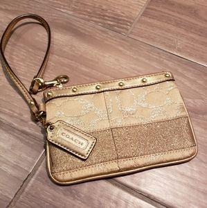 Coach change purse  wristlet